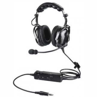 Carbon-Flber-ANR-Headset-With-Bluetooth-For-Helicopter